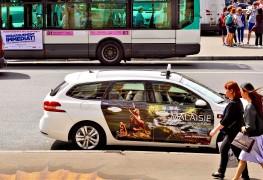 Cabvertising Malaysia Paris