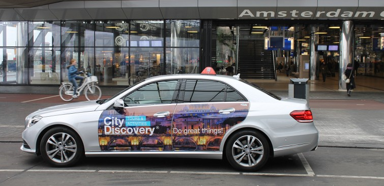 Cabvertising City Discovery Amsterdam